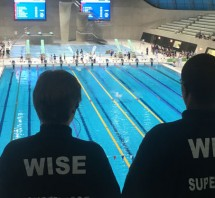 Wise Security Services at the aquatics centre