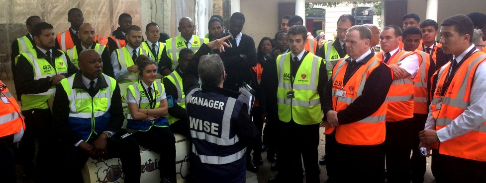 Wise Security Services briefing