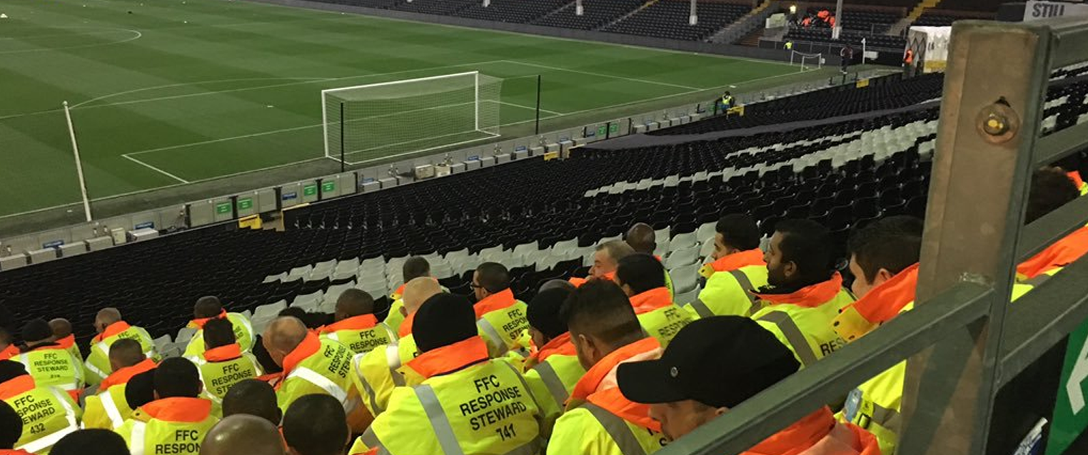 Wise Security Services at Fulham FC