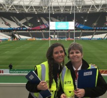 Wise Security Services at the Olympic Stadium during the Rugby World Cup 2015
