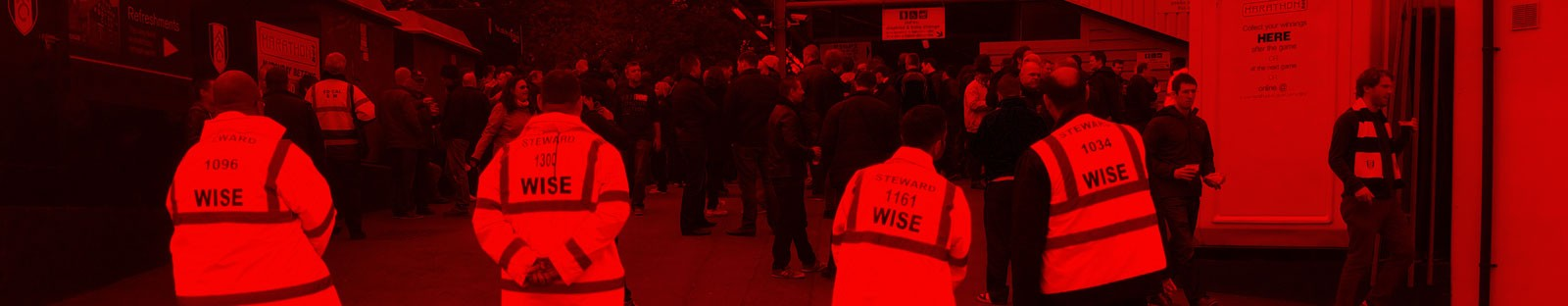 Wise Security Services work with Fulham FC