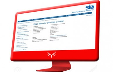 Wise Security Services is approved by the Security Industry Authority