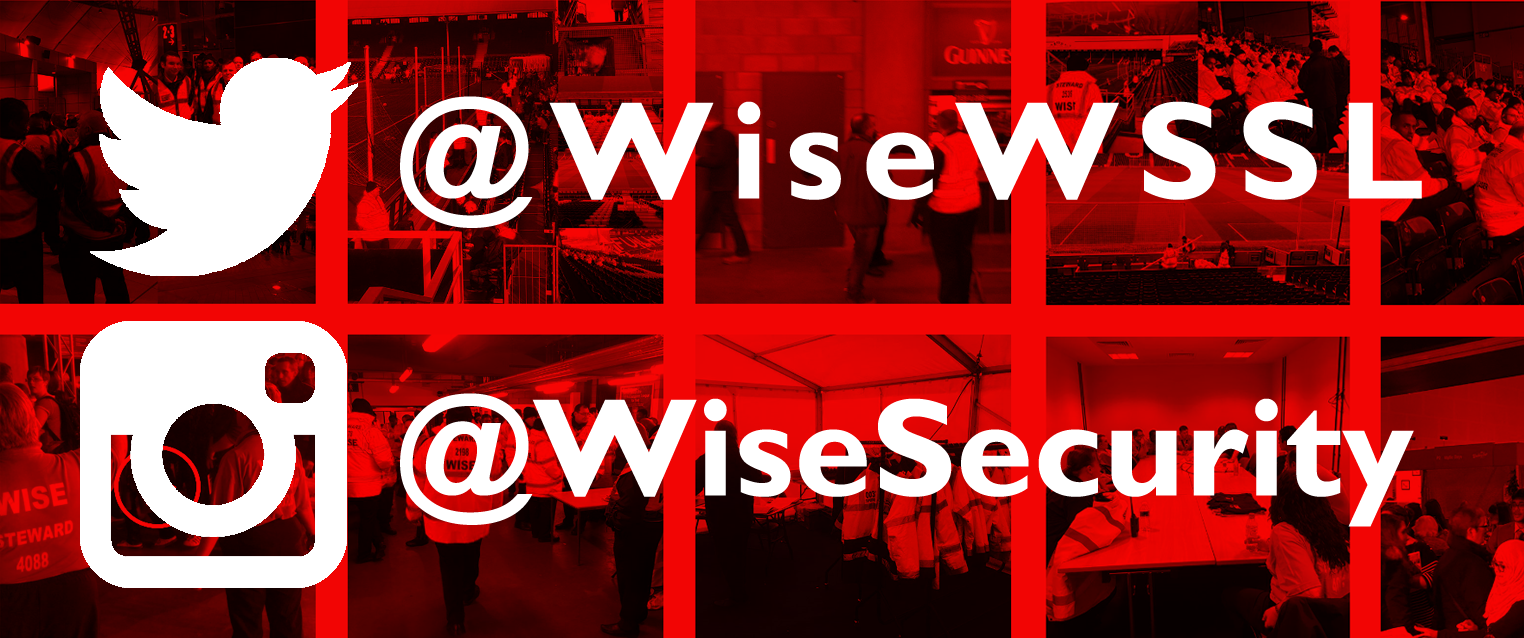 Follow Wise on Twitter and Instagram